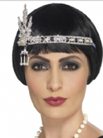 20's  Flapper Jewelled Headband (44667)